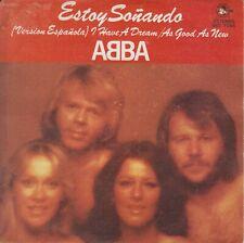 "Abba 7"" vinyl single Estoy Sonando (I Have A Dream) spanish version 1979"