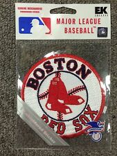 Boston Red Sox Embroidered Patch Sticker Authentic MLB Licensed Can Be Sewn On