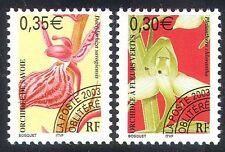 France 2003 Orchids/Flowers/Plants/Orchid/Nature/Pre-cancel 2v set (n40247)