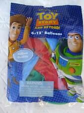 Toy Story Party Supplies BALLONS Birthday Favors Woody x12 Buzz Decoration Latex