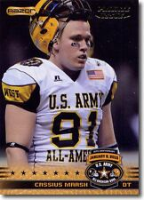 100) CASSIUS MARSH Seattle Seahawks - 2010 U.S. Army All American Bowl RC LOT