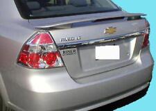 2007-2011 Chevrolet Aveo Sedan 4DR Painted Rear Spoiler