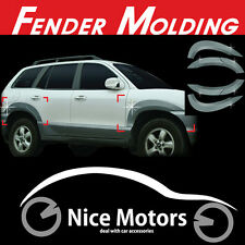 Fender Garnish Molding 6P 1Set For Hyundai Santa Fe 2001 2006