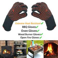 Extrême Résistant à la chaleur Barbecue Four Gants 500 ° C Pot Holder cuisson Mi...