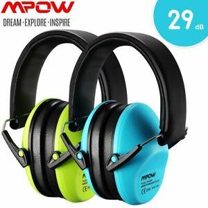 2er Mpow Kinder Gehörschutz Ohrenschützer Geräuschreduzierung Ohrstöpsel Stöpsel