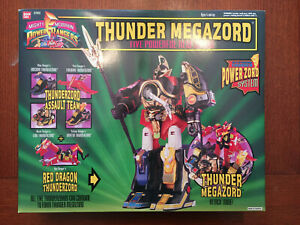 Mighty Morphin Power Rangers Thunder Megazord Bandai 1994 - SEALED