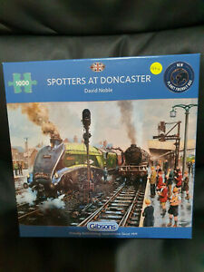 Gibsons G6317 Spotters at Doncaster by David Noble 1000 pce jigsaw puzzle
