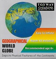 Inflatable Globe 30cm Diameter Geographical World Globe Teaching Aid
