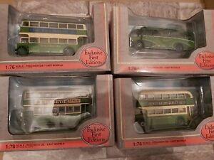 Bundle Of EFE Southdown Bus 1:76 Scale Models (26315 20904 28501 & 16133)