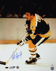 PHIL ESPOSITO AUTOGRAPHED SIGNED 16X20 PHOTO BOSTON BRUINS PSA/DNA 91033