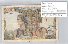 BILLET FRANCE - 5000 FRANCS - 5.4.1951