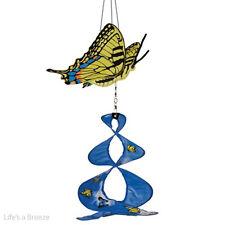 Butterfly, Swallowtail Theme Duet. Hang In A Garden. 2D Graphic