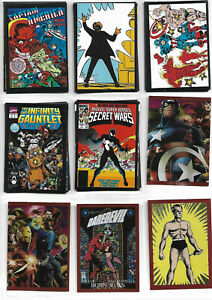 Panini Marvel 80 Years Anniversary 125 Stickers & 25 Card Lot ***NO DOUBLES ***