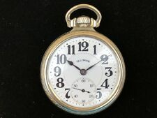 Illinois Bunn Special 60h Bw Raymond Case 21j 14k Gf Open Face Rr Pocket Watch