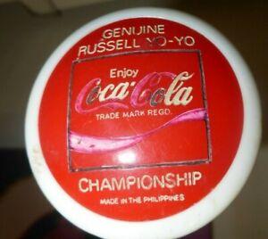 Coca Cola 1970s Yo Yo original vintage Russell SEE MY OTHER VINTAGE ITEMS 4 SALE