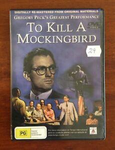 To Kill A Mockingbird (Gregory Peck) - PAL DVD