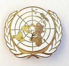 ONU: Insigne de béret, émail
