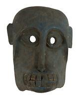 Antiguo Máscara Tibetana Mono Hanuman Madera - Himalaya- Chamán -tíbet Nepal