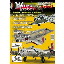 Wingmaster 54 Aviation Model Making History Junkers Boeing Flying Fortress 2. WK