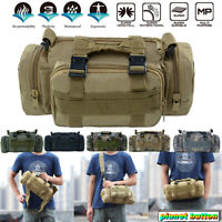 10L Outdoor Military Tactical Waist Pack Shoulder Bag Molle Camping Hiking Pouch