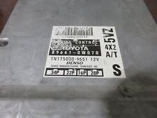 98 TOYOTA T100 6CLY 4X2 3.4L AT ECU ECM COMPUTER CONTROL MODULE OEM 89661-0W070