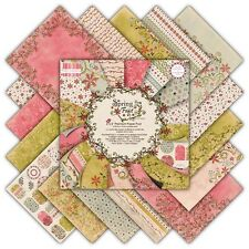 """First Edition Spring Feast Sample Paper Pack (16 sheets x 6x6"""" size)"""