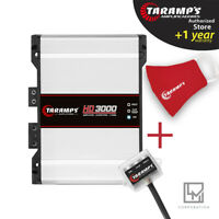 Taramps HD 3000 1 Ohm Amplifier HD3000 3K Watts Taramp's Car Audio SHIPS USA