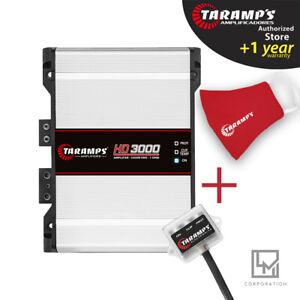Taramps HD 3000 1 Ohm Amplifier HD3000 3K Watts Taramp's Car Audio SHIPS USA