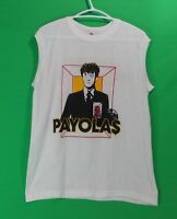 Payolas Muscle Shirt Vintage 1983 Canada Hammer On A Drum Eyes Of A Stranger Lrg