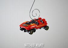 NEW Custom Roller Coaster Car Christmas Ornament 1/64 Amusement Park Adorno