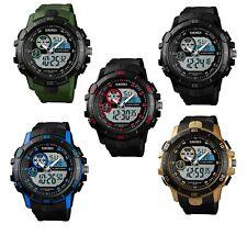Reloj Pulsera SKMEI Para Hombre LED Digital Alarma Fecha Militar Deportivo Ejército Impermeable