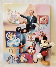 Bradford Exchange Walt Disney 100 Year Anniversary 3D Plate, Mickey 1940-1960