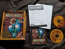 BROKEN SWORD II THE SMOKING MIRROR PC Game Big Box