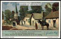 Street In Killarney Ireland 1930s Trade Ad Card