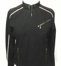 RALPH LAUREN jacket Black MOTO Polo Jeans Racing Women's Large M/L $149