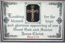 LOOKING FOR THE BLESSED HOPE-Bible Verse Poems Plaques Scripture,Christain,Gifts
