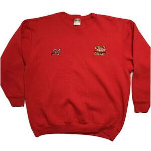 Vintage Bill Elliott Sweatshirt NASCAR Elliott Hardy McDonalds 94 Oneita USA XL