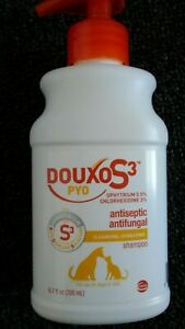DouxoS3 PYO Chlorhexidine + Ophytrium Shampoo 6.7 oz. (200ml) Exp 10/2022