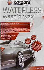 Carpure abejas rodillas Waterless Wash & Wax (750ml) de limpieza del coche Kit Airpure