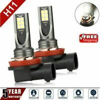 2Pcs H11 H8 H9 Car LED Headlight 24000LM 100W Kit Hi Low Beam Bulb 6500K-