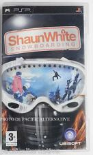 jeu SHAUNWHITE SNOWBOARDING pour sony PSP en francais game spiel juego gioco