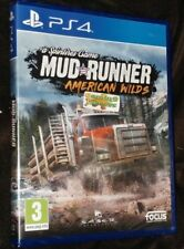 Spintires MudRunner American Wilds Edition Playstation 4 PS4 NEW SEALED