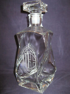 AC MILAN  High quality Glass decanter.