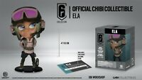SIX COLLECTION FIGURE Ela (RAINBOW SIX SIEGE) UBISOFT CHIBI Figure New