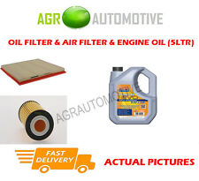 PETROL OIL AIR FILTER + LL 5W30 OIL FOR VAUXHALL ZAFIRA TOURER 1.4 140BHP 2011-