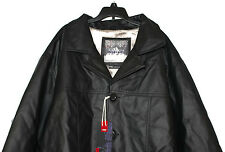 NWT 200$ Whispering Smith Men's Black Faux Fur Lined Jacket/Coat Size 2XL