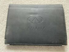 Older Infiniti Owners Manual Case - Case Only, no Books Included