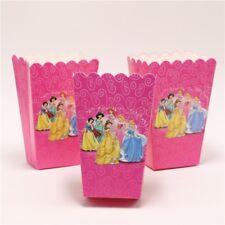 6 x Disney Princess Kids Popcorn Sweet Box Party Happy Birthday
