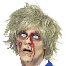 Halloween Hommes Perruque Déguisement Zombie Perruque Gris Nouveau par Smiffys