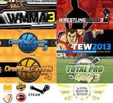World of Martial Arts 3+Wrestling Spirit 3+Total Pro Golf 3 PC Digital STEAM KEY